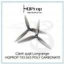 Cánh quạt Longrange HQPROP 7X3.5X3 LIGHT GREY - POLY CARBONATE