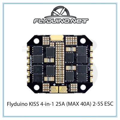 Flyduino KISS 4-in-1 25A (MAX 40A) 2-5S ESC
