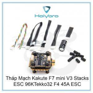 Tháp Mạch Holybro Kakute F7 V3 Mini + Điều Tốc Tekko32 F4 4in1 mini 45A ESC