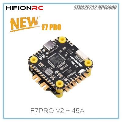 THÁP MẠCH HIFIONRC F7 V2 Pro - ESC Blheli-32 45A