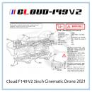 Vòng bảo vệ thay thế Cloud F149 V2 3inch Cinematic Drone 2021