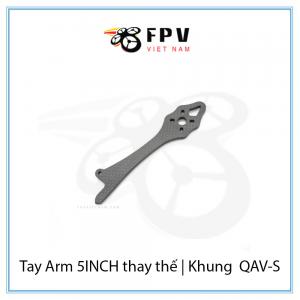 Tay Arm 7INCH thay thế | Khung Lumenier QAV-S JohnnyFPV Special Edition