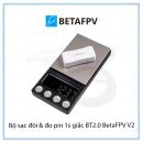 Bộ sạc đôi & đo pin 1s giắc BT2.0 BetaFPV V2