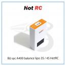 Bộ sạc A400 balance lipo 3S / 4S HotRC | Chính hãng