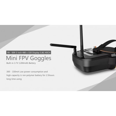 Kính FPV  5.8Ghz 40CH Dual Antenna